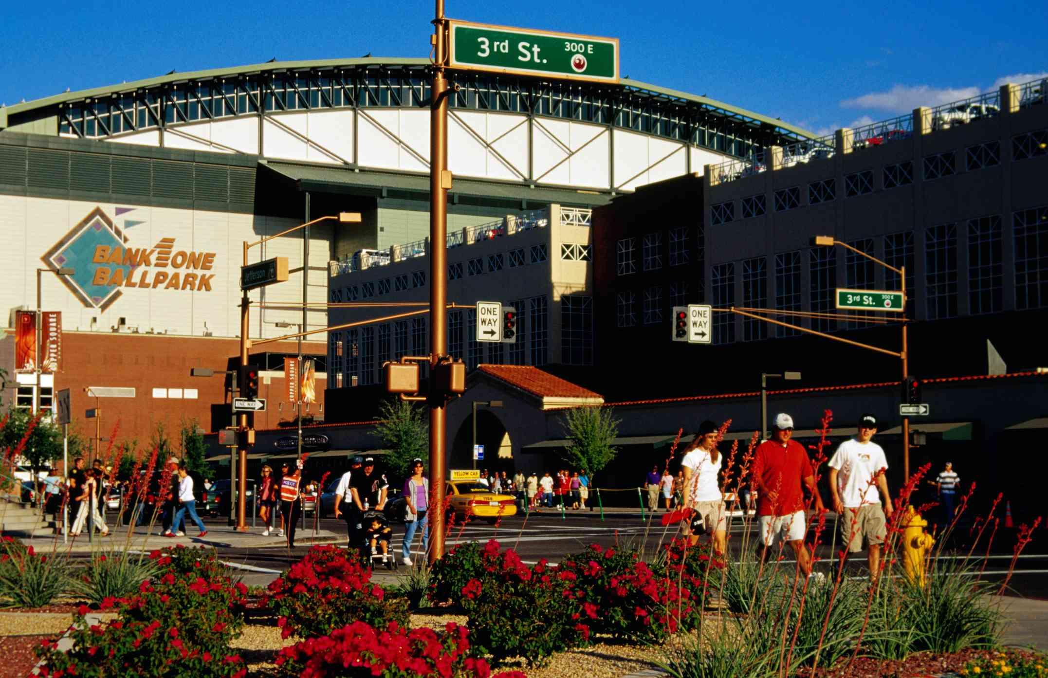 Phoenix ballpark