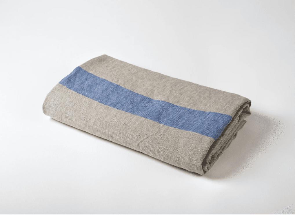 lightweight linen travel towel