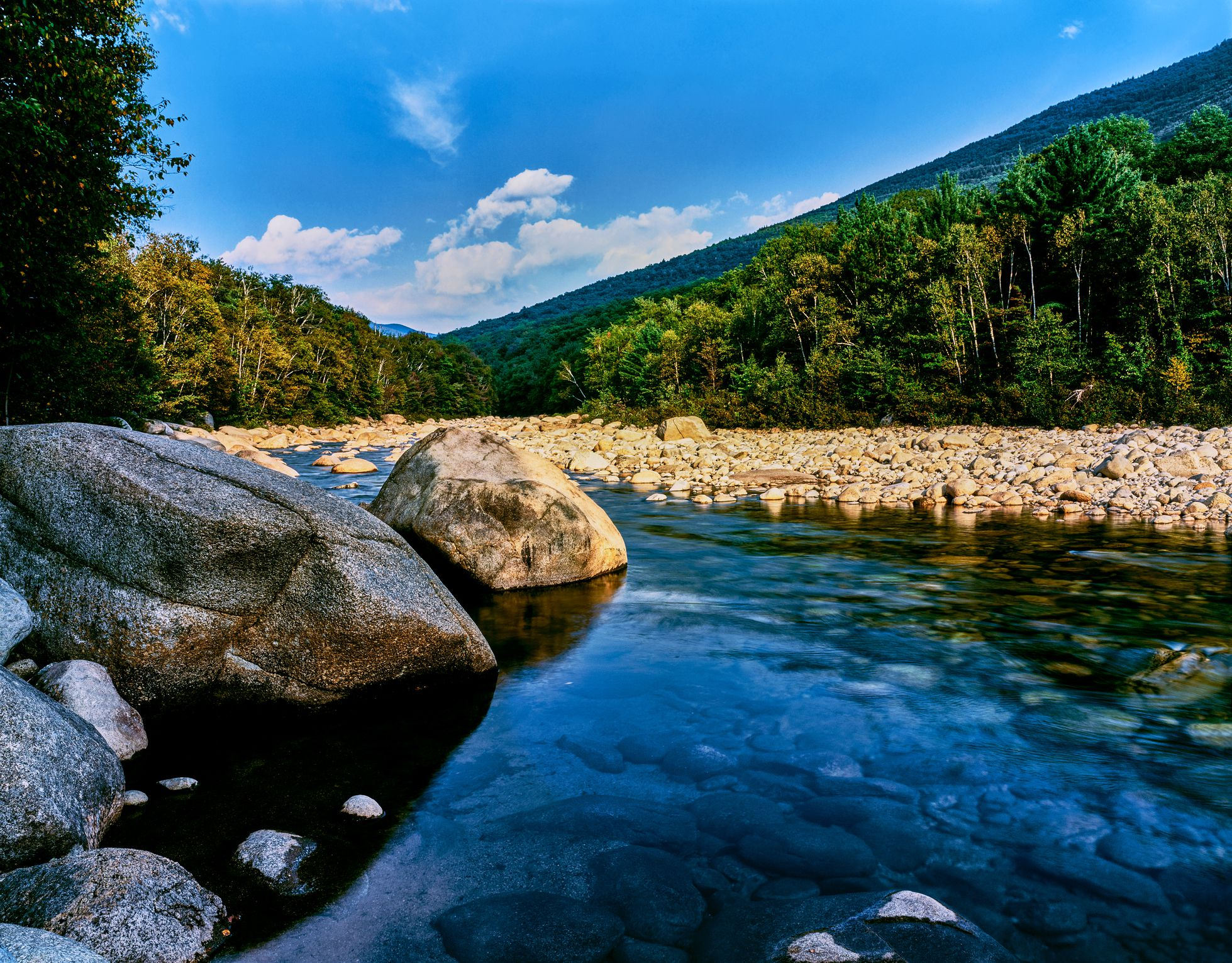 Swift River, Kancamagus Highway, White Mountain National Forest, New Hampshire