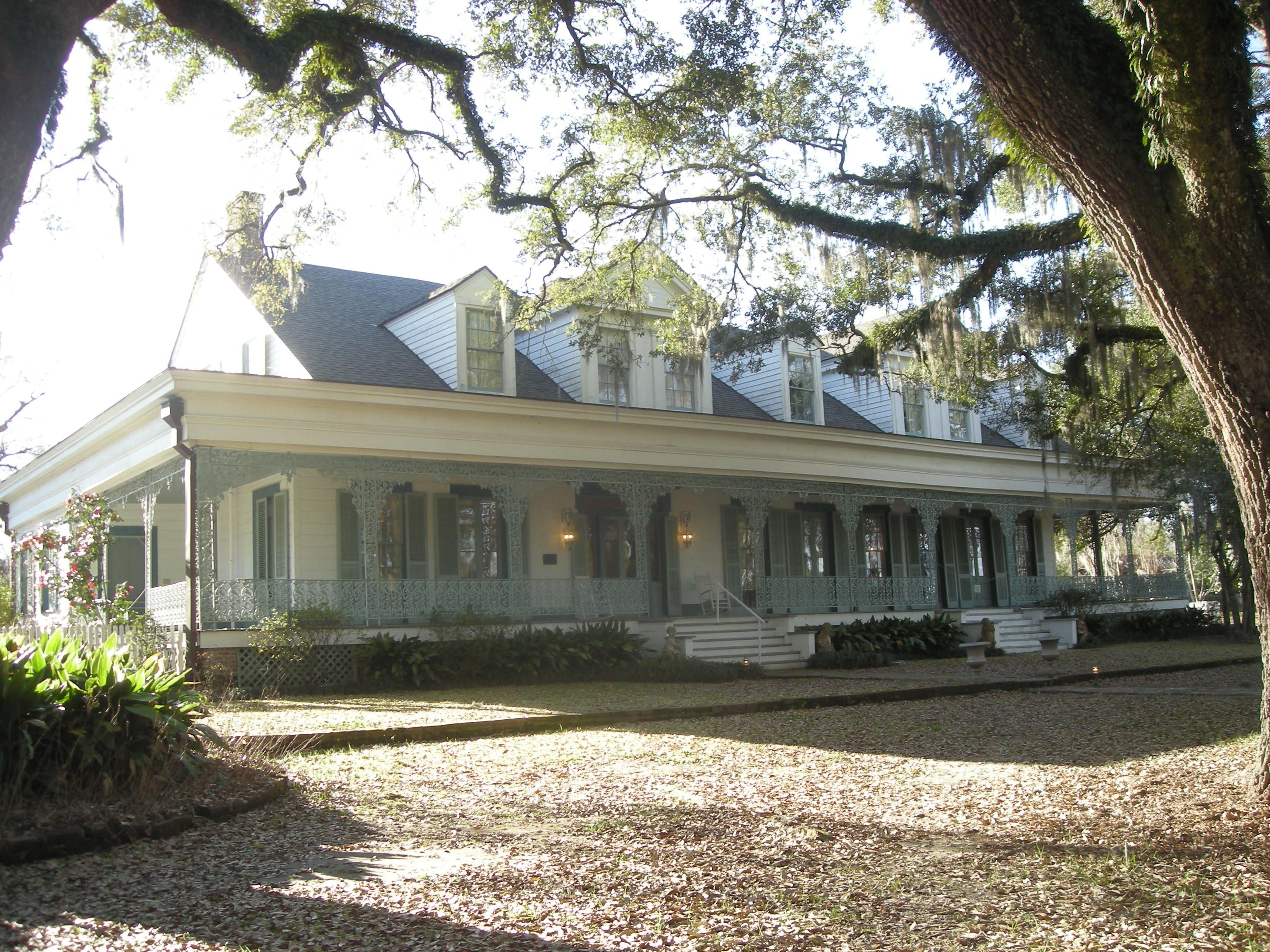 The Myrtles Plantation in St. Francisville, Louisiana.