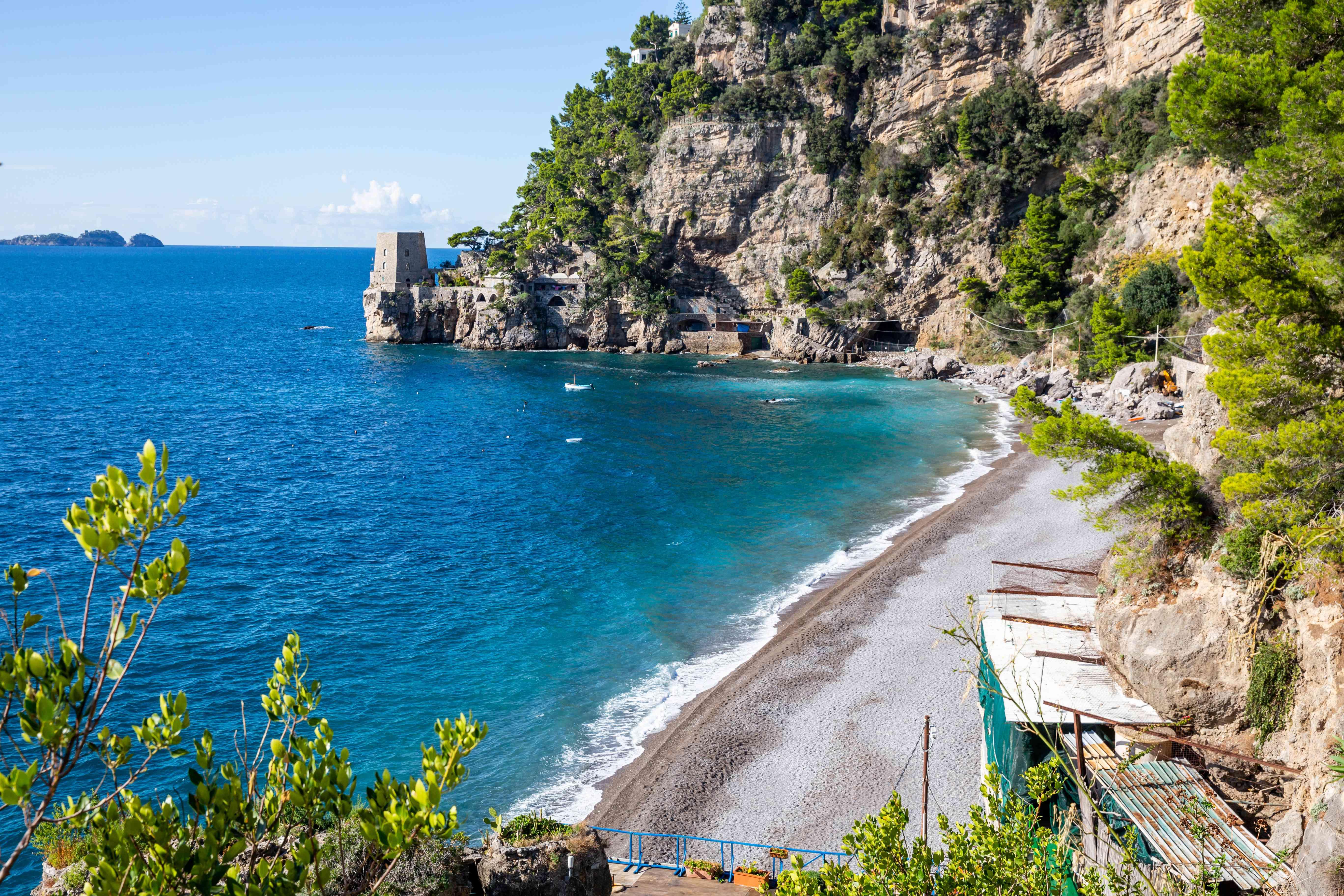 Fornillo Beach, Positano, Amalfi Coast