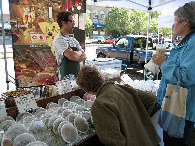 Caputo's Market in its second year at the market in Salt Lake City