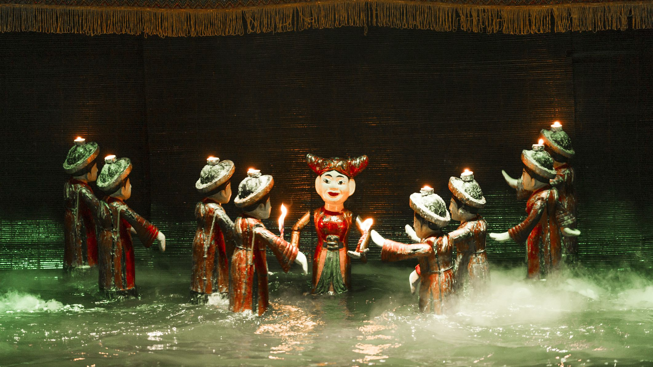 Vietnamese Theater: The Water Puppet Show in Hanoi - Water Puppet Show History