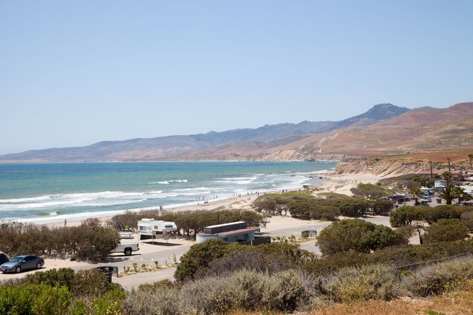 Jalama Beach State Park, California