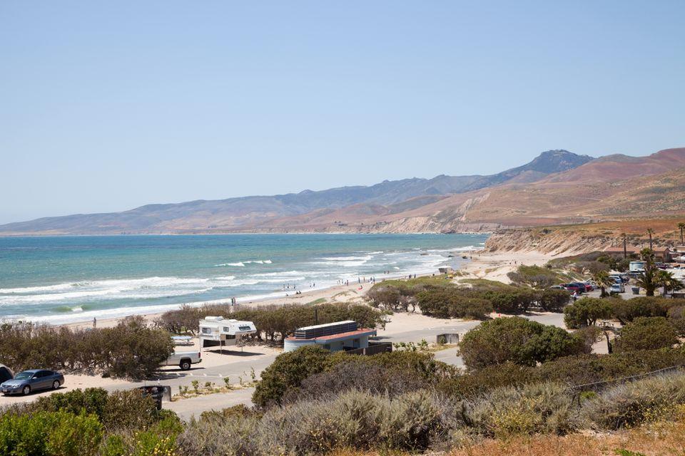 Parque estatal Jalama Beach, California