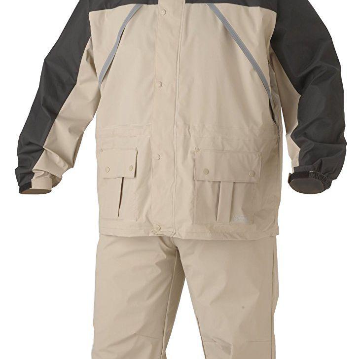 Sports Rainwear Rain Suit Jacket /& Pants Gear Rain Wear Rain Coat Black L XL OB