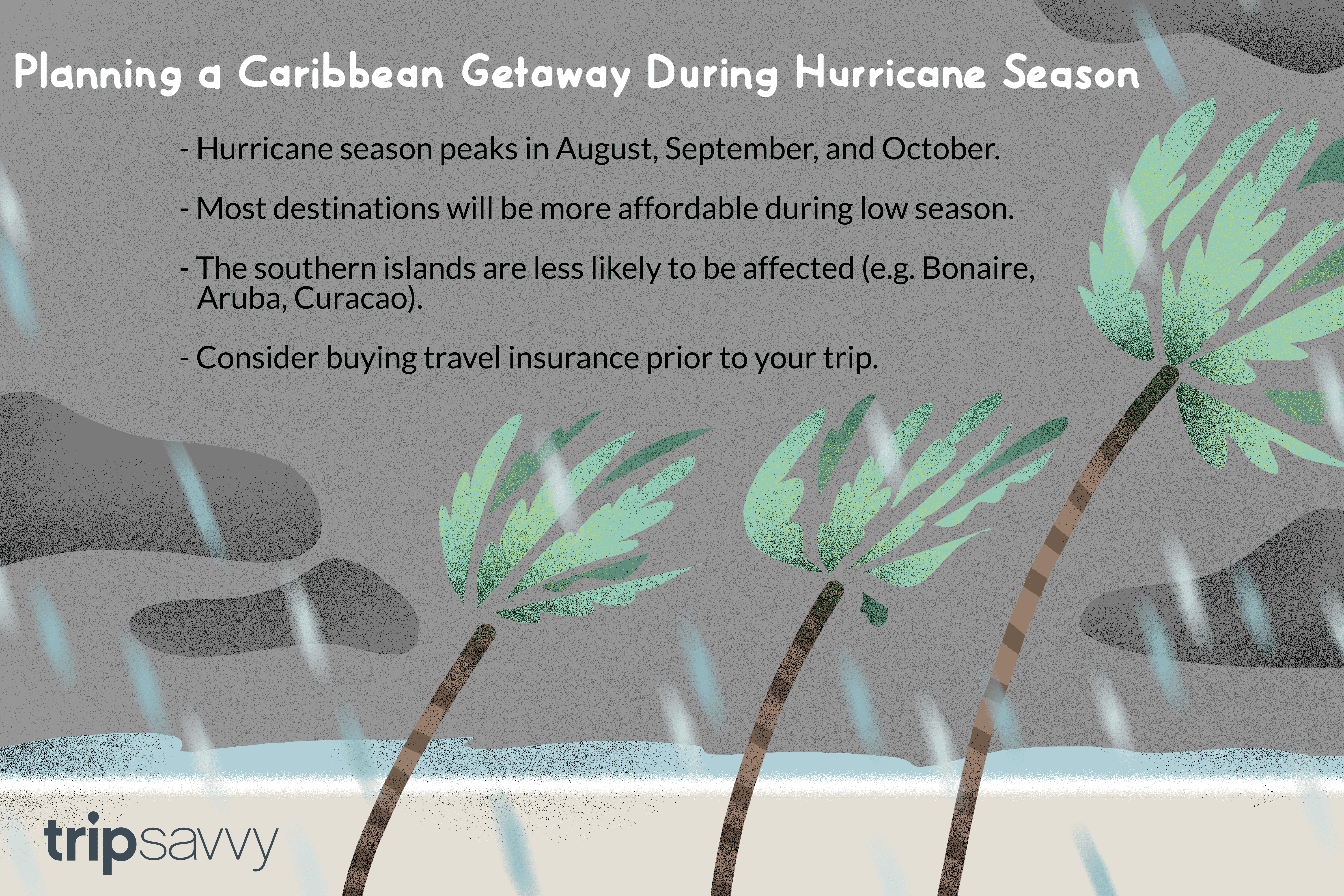 How to Travel to the Caribbean During Hurricane Season