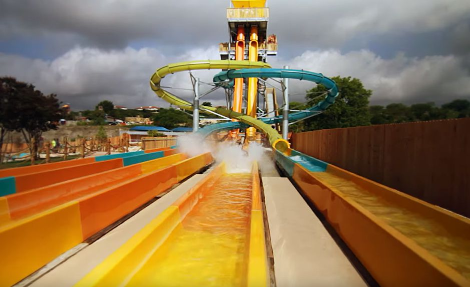 White Water Bay at Six Flags Fiesta Texas