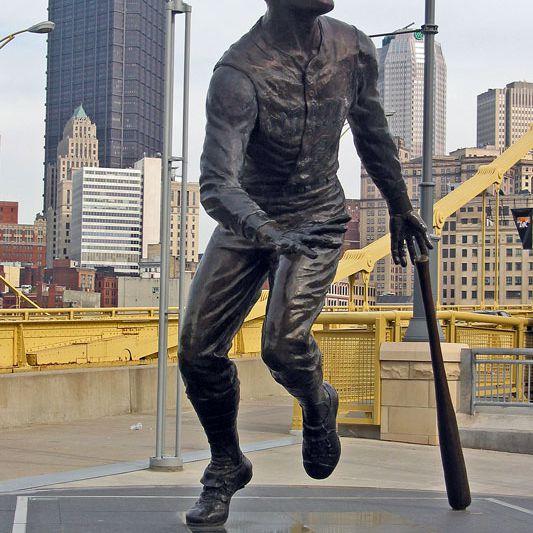 Roberto Clemente Statue,