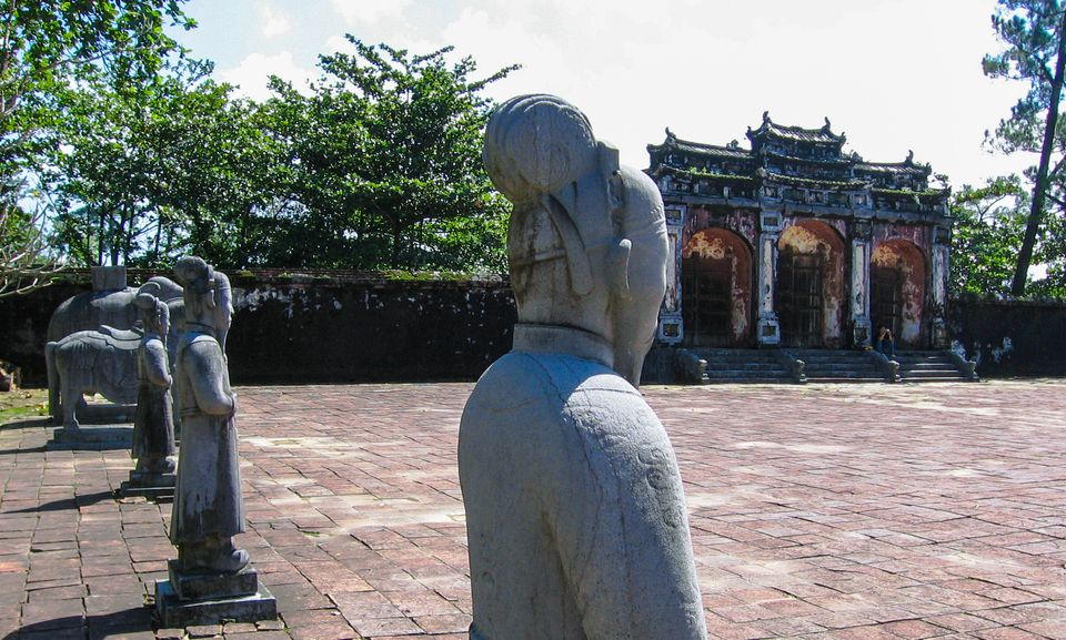 Forecourt at Minh Mang's Royal Tomb