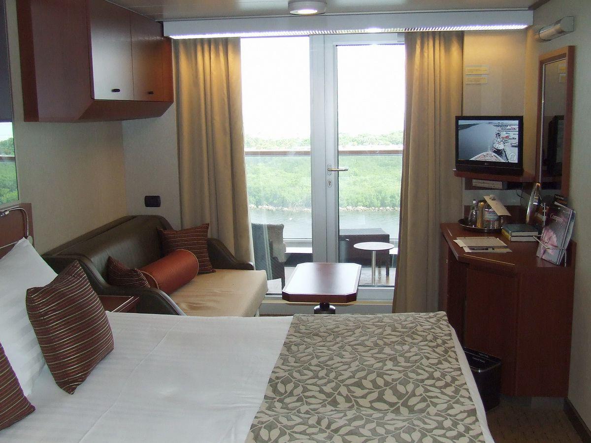 Holland America Eurodam Cruise Ship Verandah Cabin