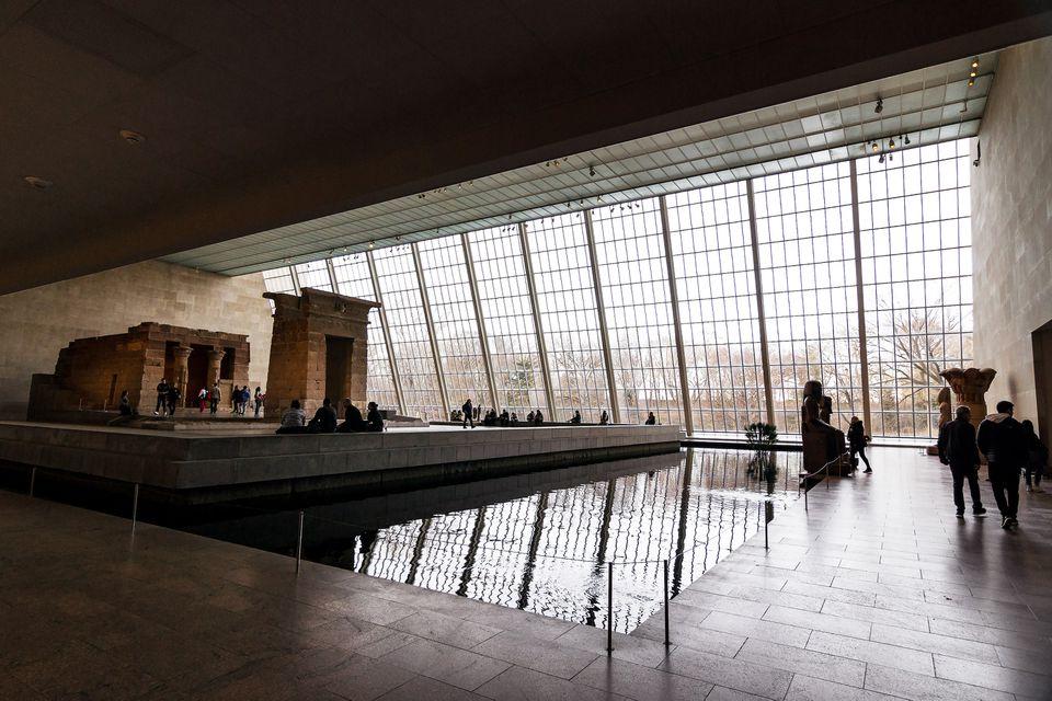 Inside the Met museum
