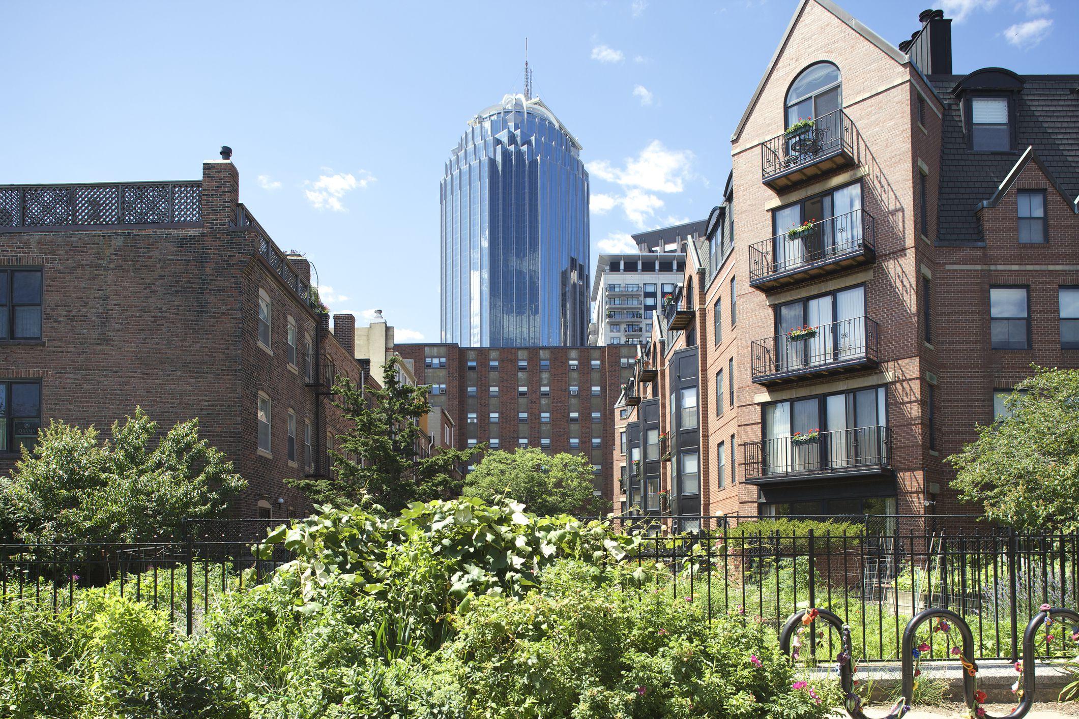 Boston South End Nachbarschaft