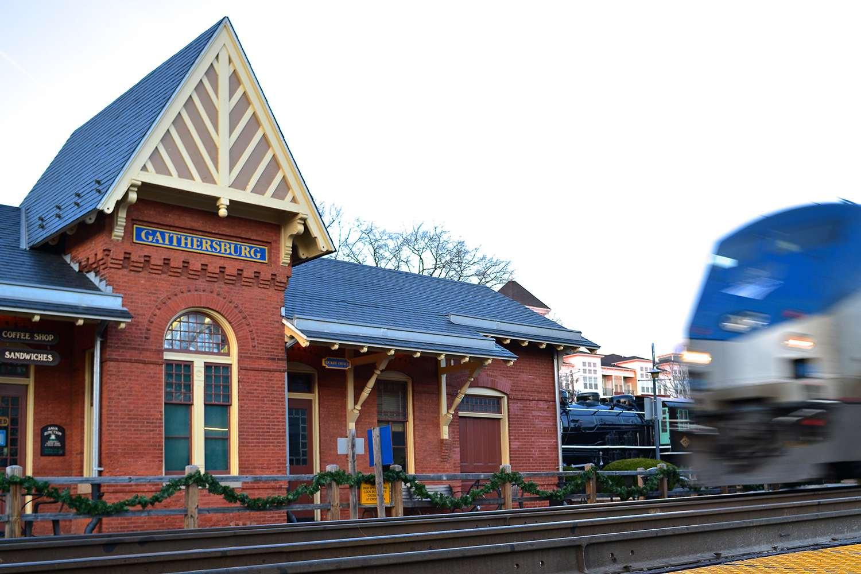 Gaithersburg Train Station