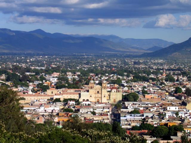 Oaxaca city center
