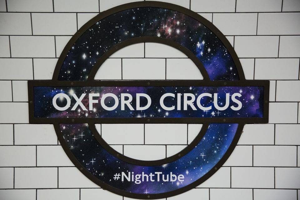 Historic Night For London Underground As Trains Run through The Night