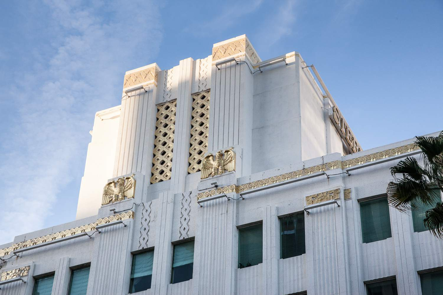Art Deco Architecture at Ace Gallery, Beverly Hills