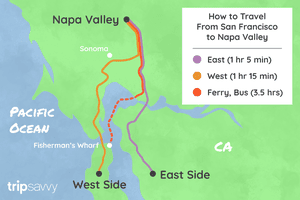 How to Get From San Francisco to the Napa Valley