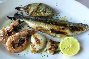 grilled fish photo