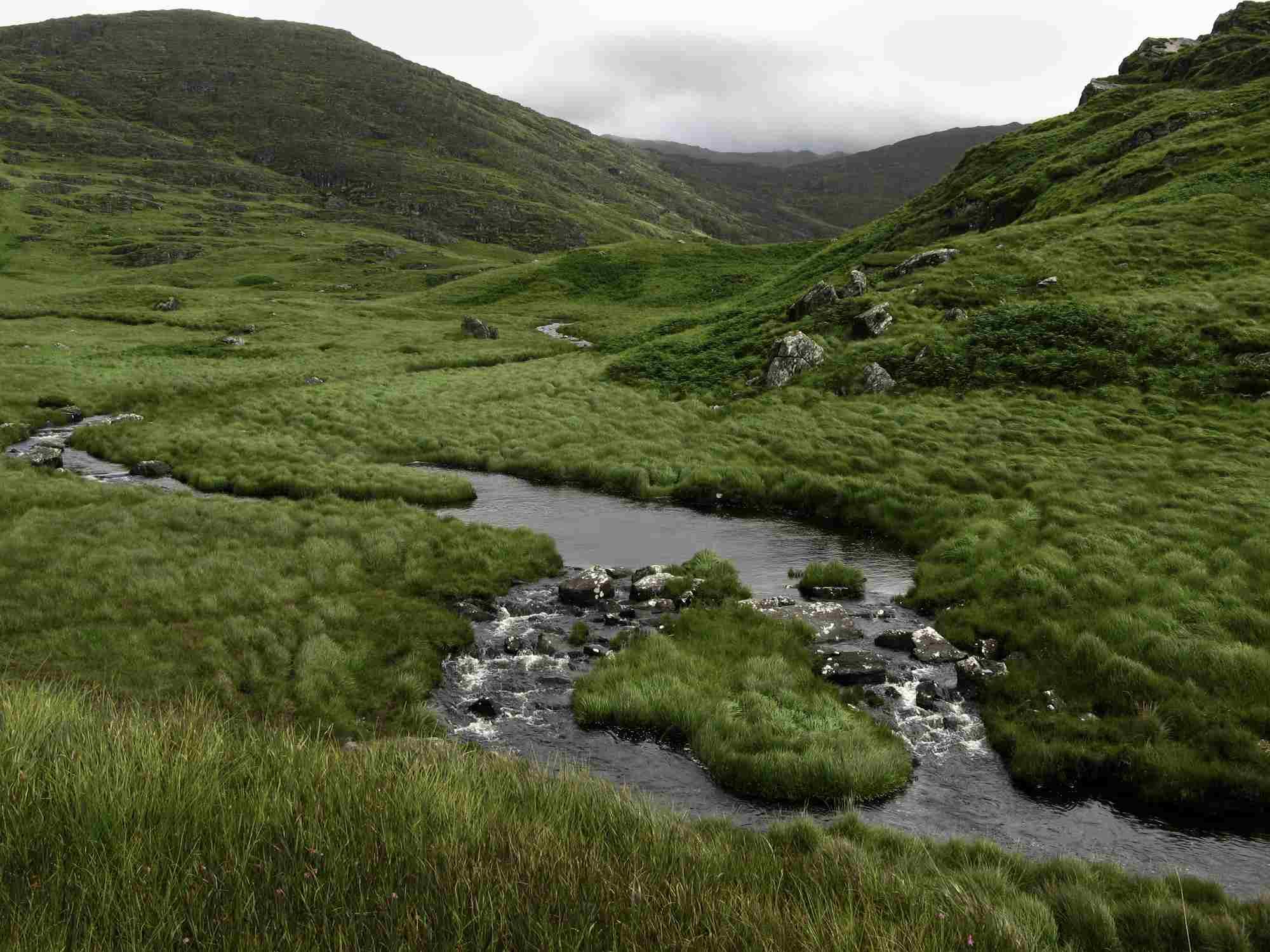 Ireland, Gleninchaquin Park on Beara Peninsula