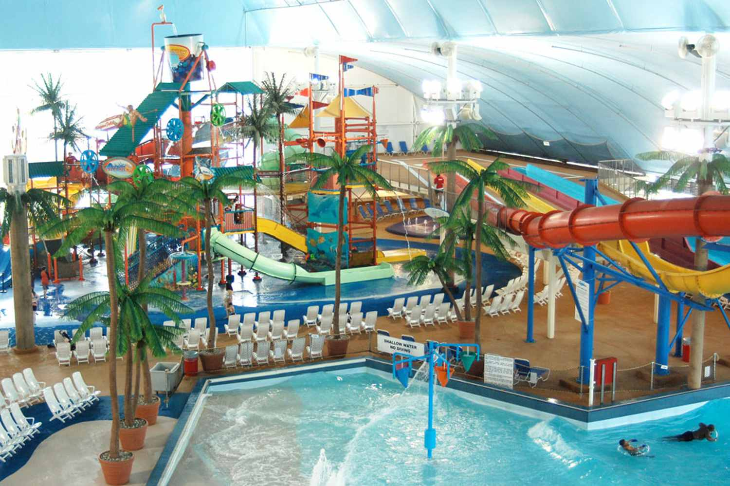 The Biggest Indoor Waterparks In The World