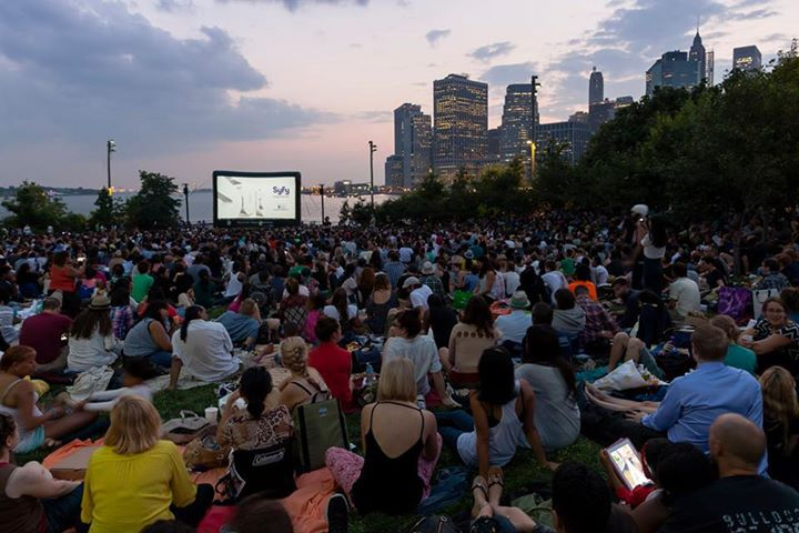 Movies With A View At Brooklyn Bridge Park