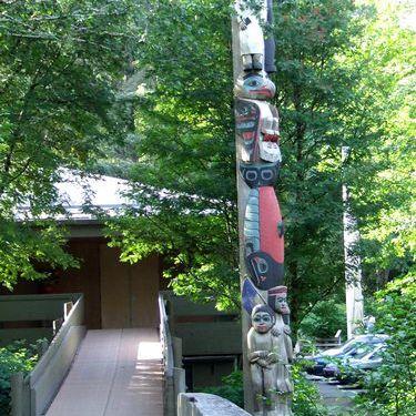 Totem Pole in Ketchikan, Alaska