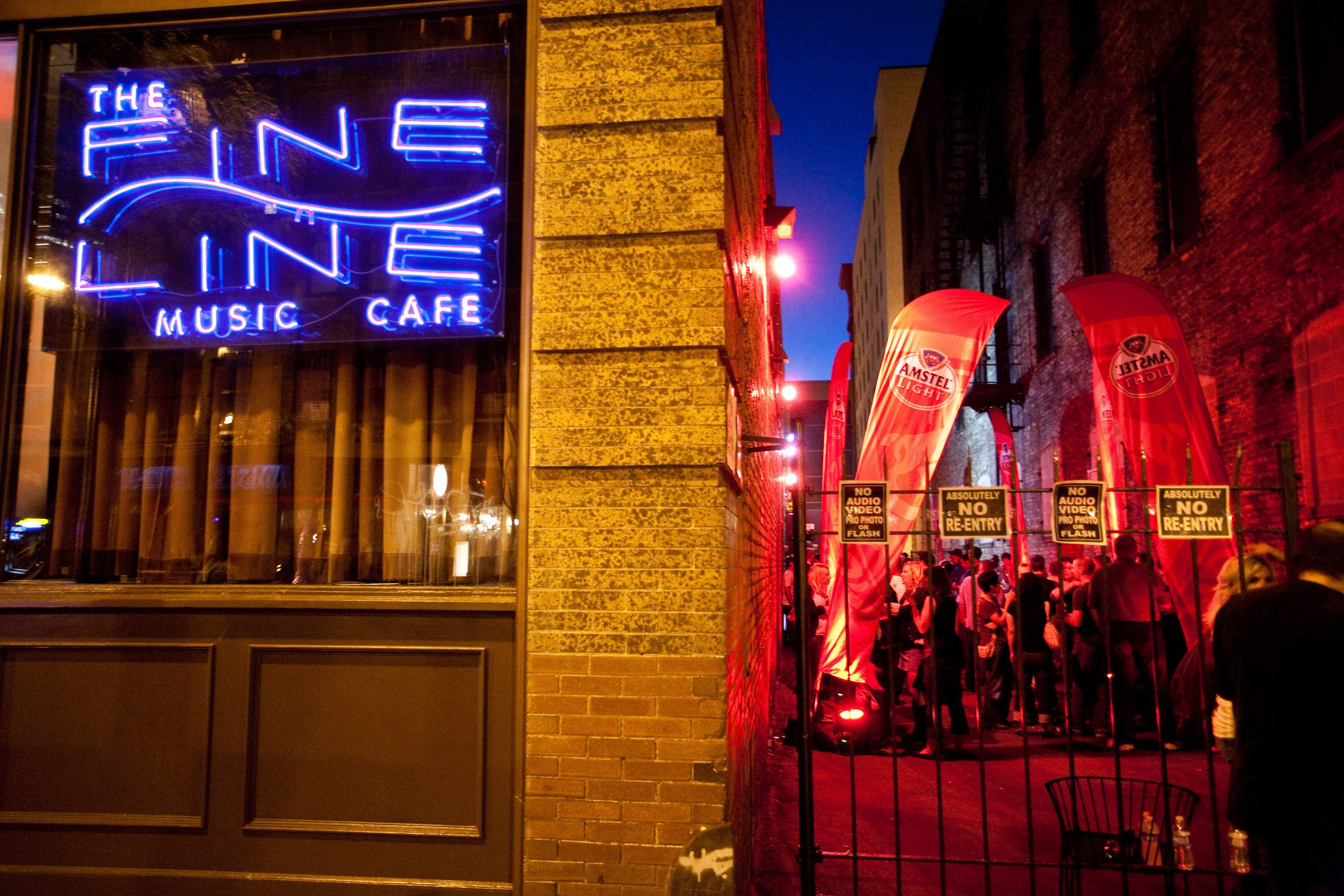 Live Event at the Fine Line Music Cafe in Minneapolis