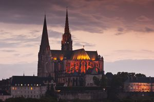 Chartres, France, Exterior View