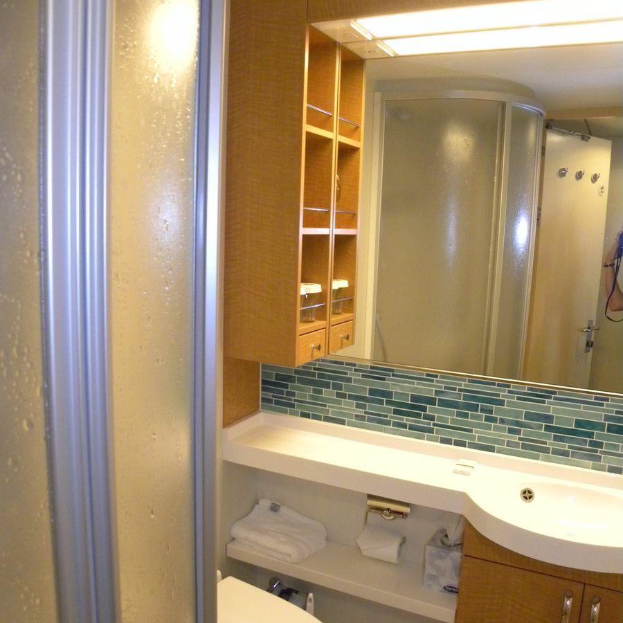 Oasis of the Seas: baño estándar