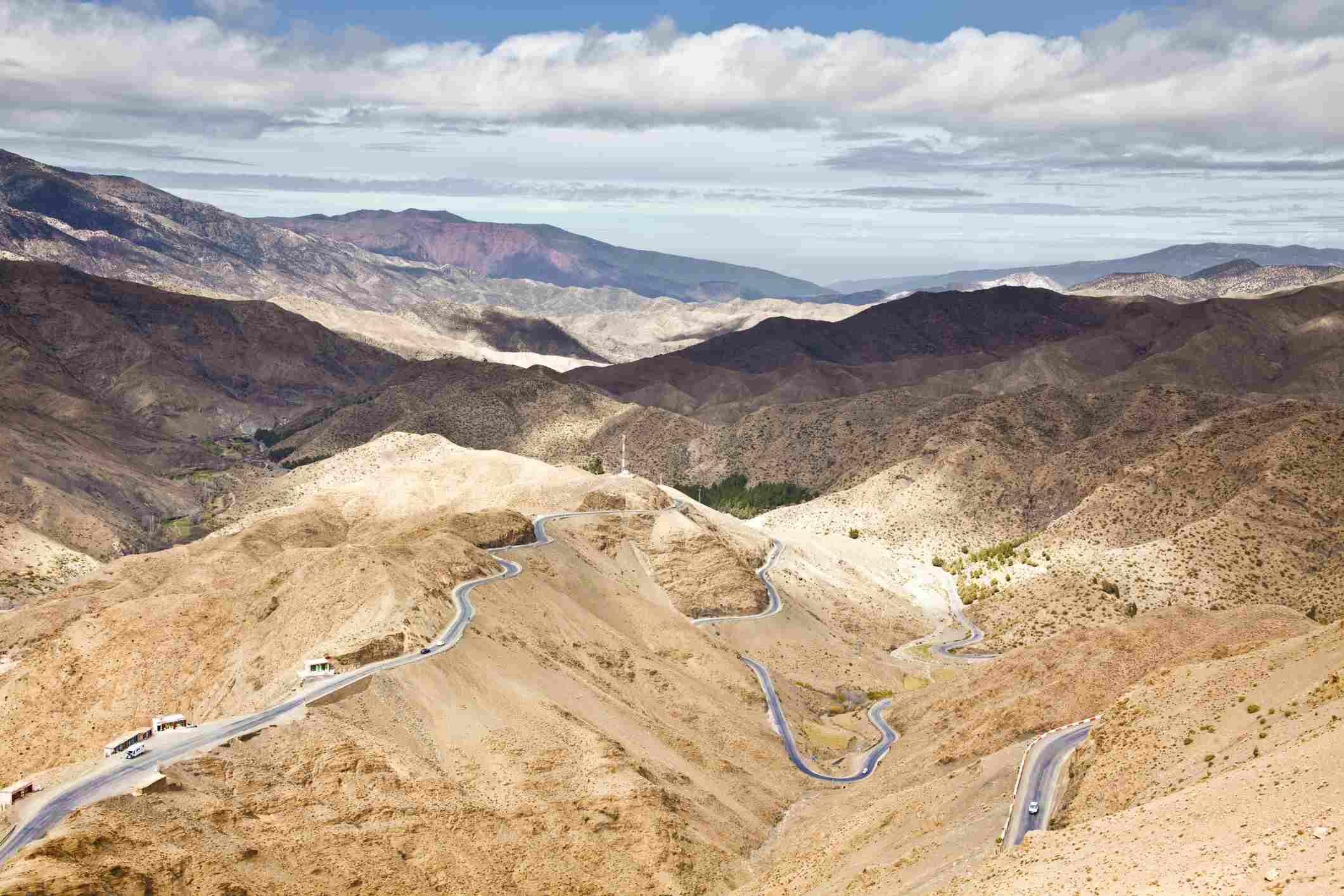 Tizi n'Tichka Pass near Ouarzazate, Morocco