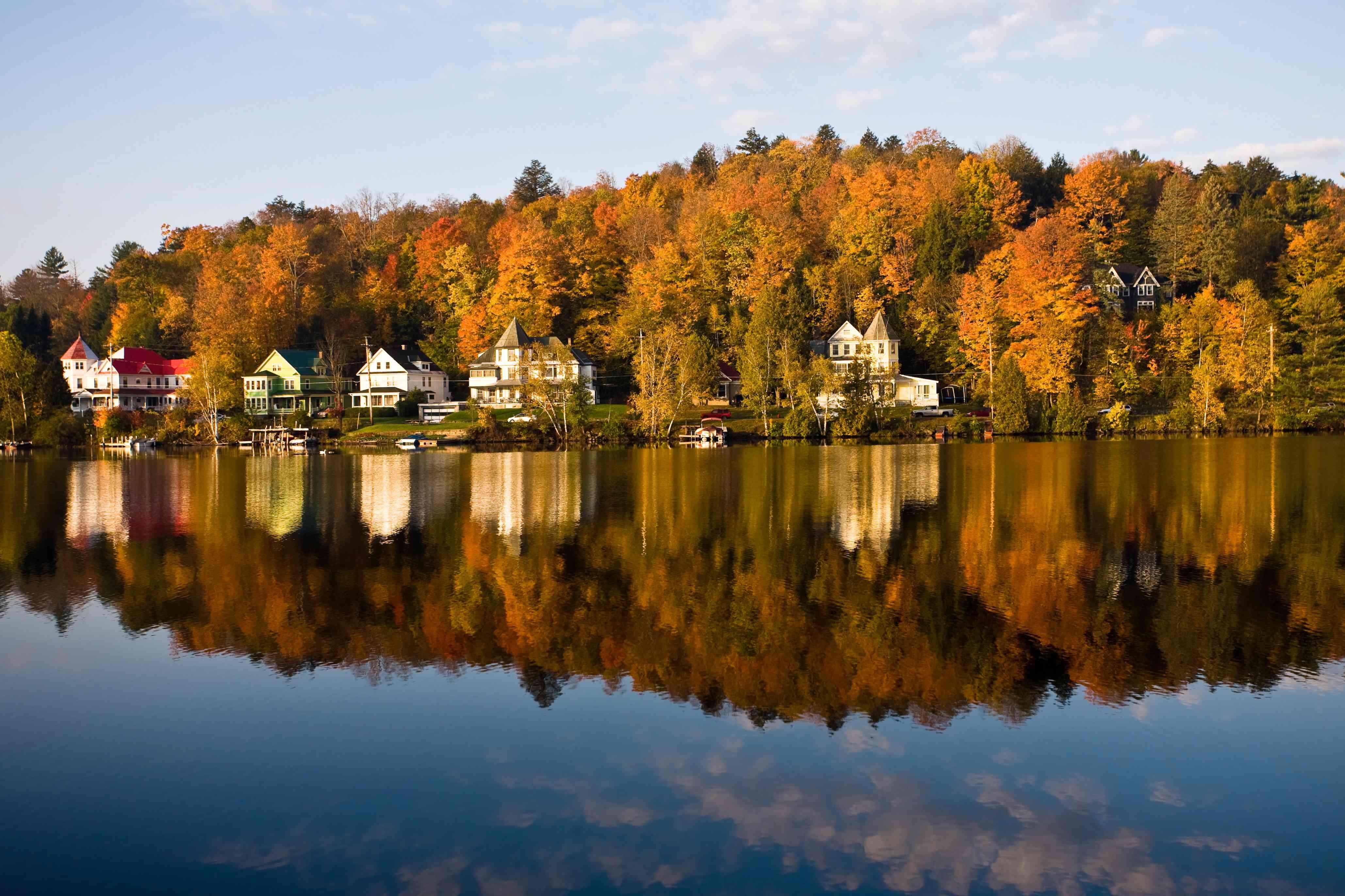 Saranac Lake Reflection