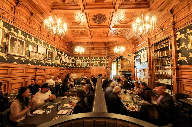 Montreal's best bars include downtown's Bar George.