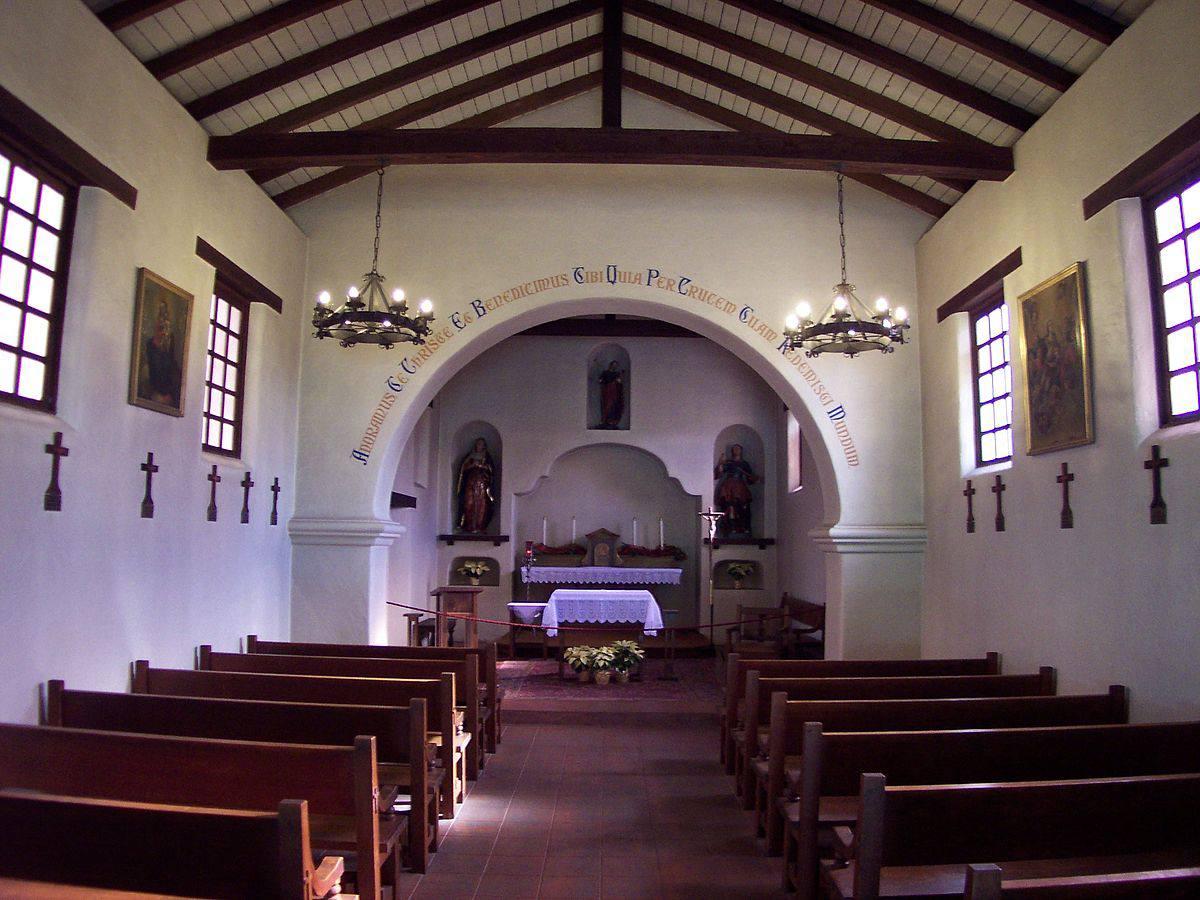 Interior mission santa cruz