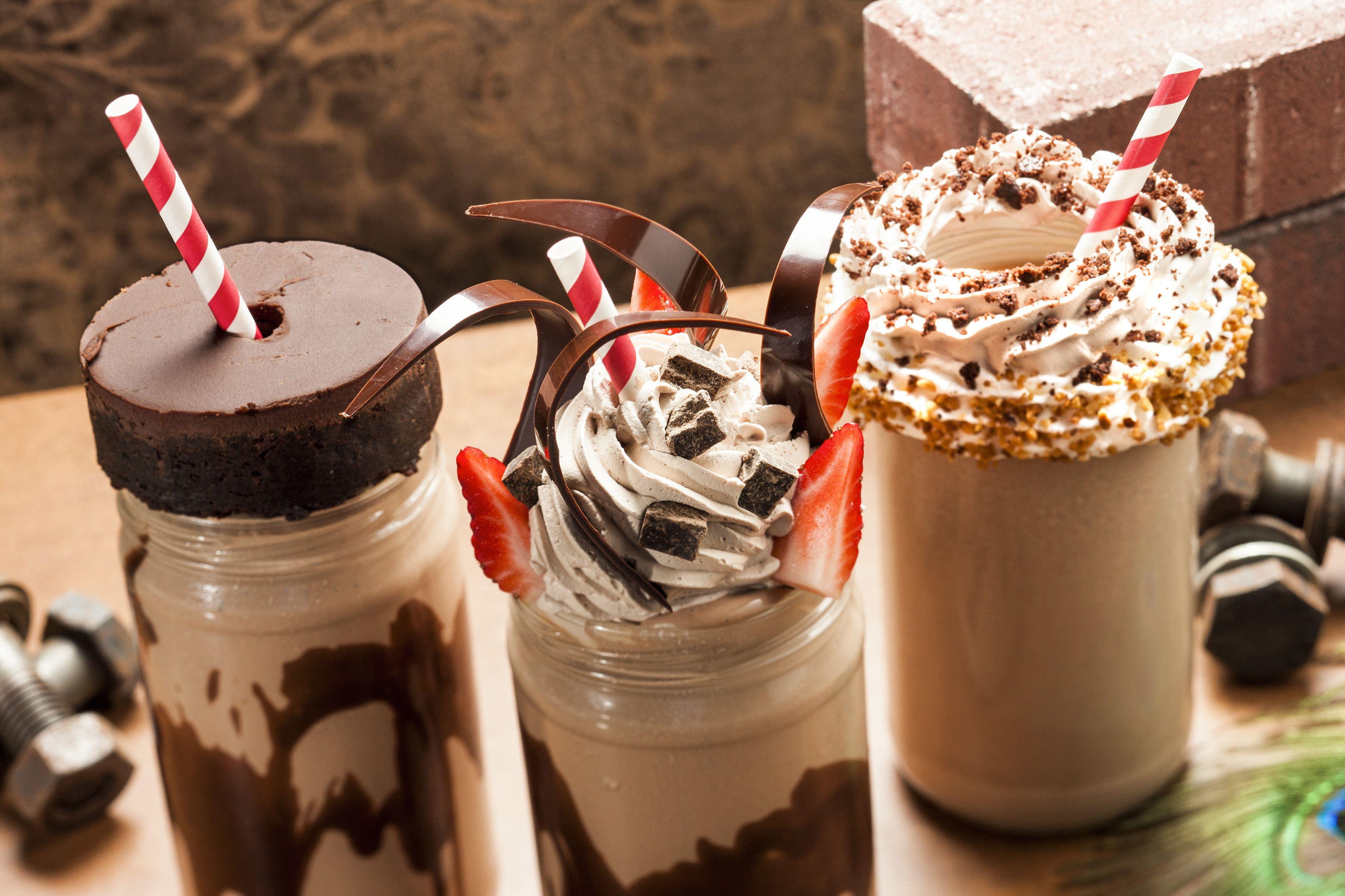 Milkshakes at The Toothsome Chocolate Emporium Universal Orlando