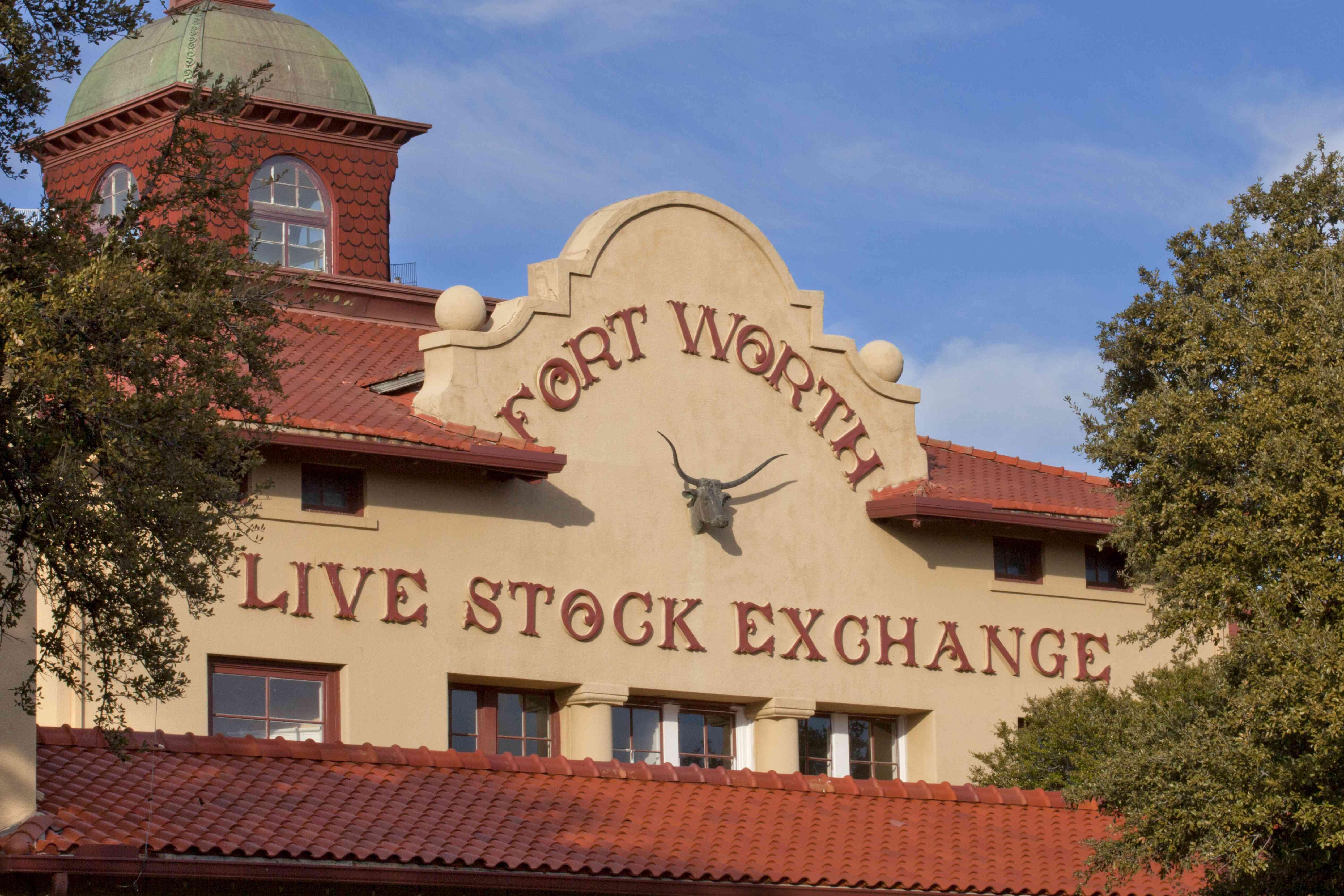 Fort Worth Live Stock Exchange building