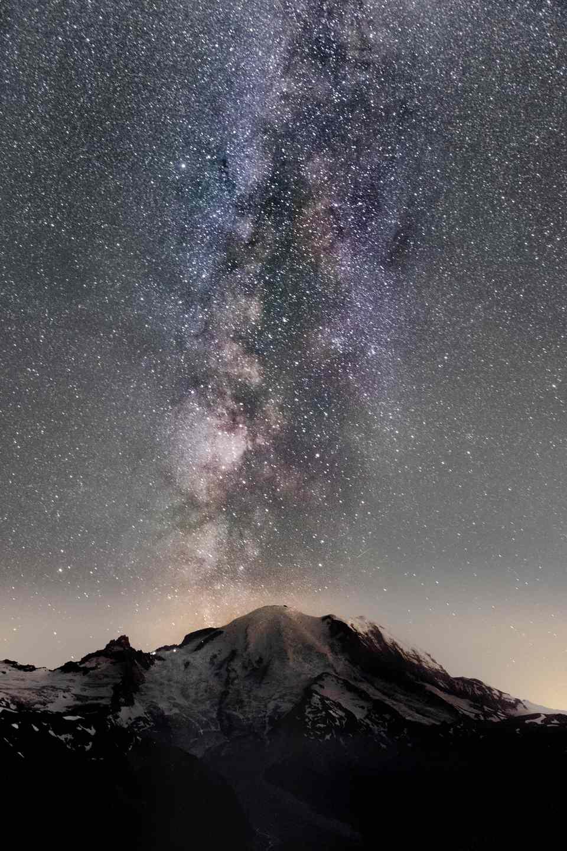 Mount Rainier in Tacoma, Washington