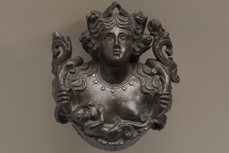 1st Century Roman bust of the earth-goddess Gaia