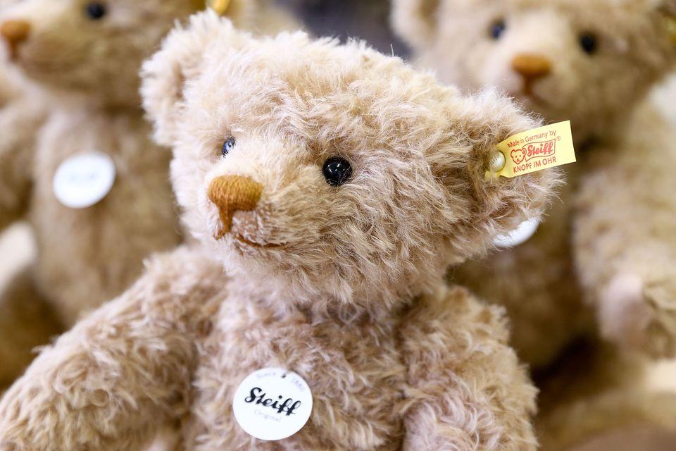 Traditional Teddy Bears Prepared Ahead of Festive Season