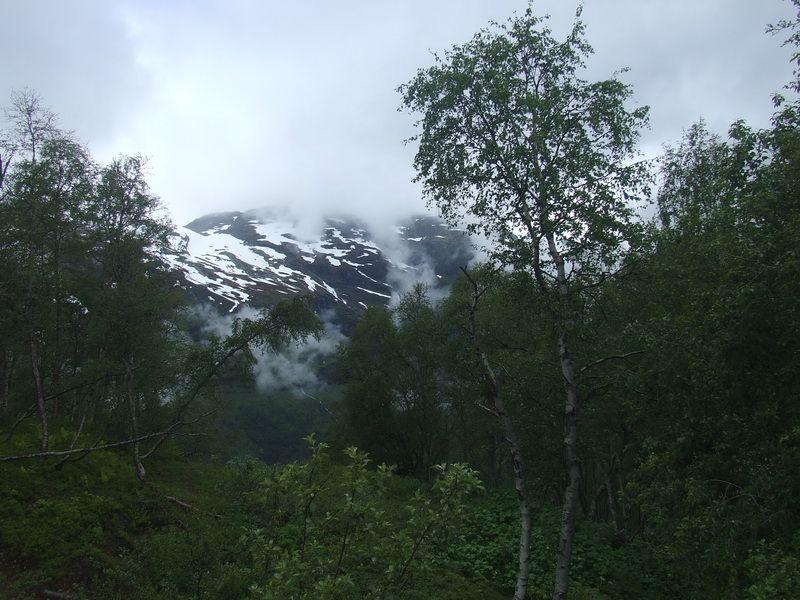 Snow on the Mountains - Flam Railway