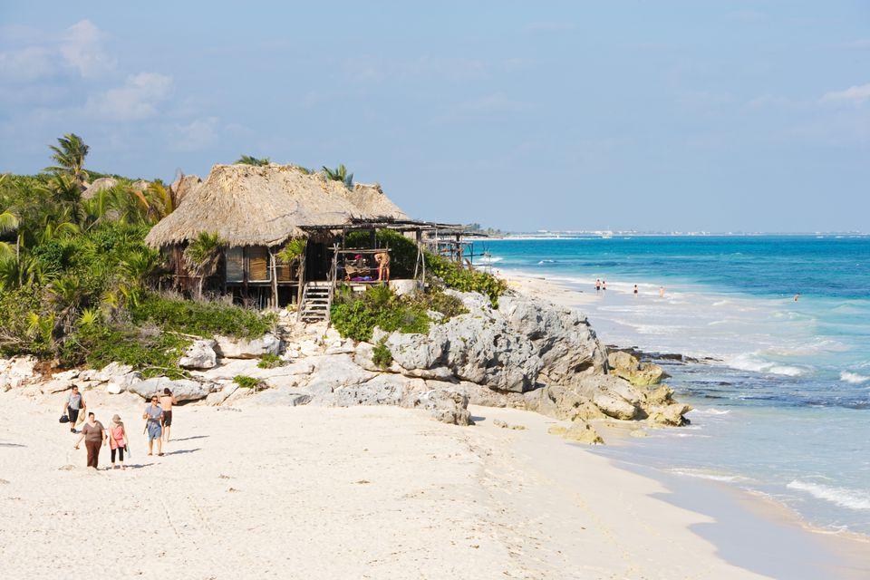 Tulum Beach Cabana