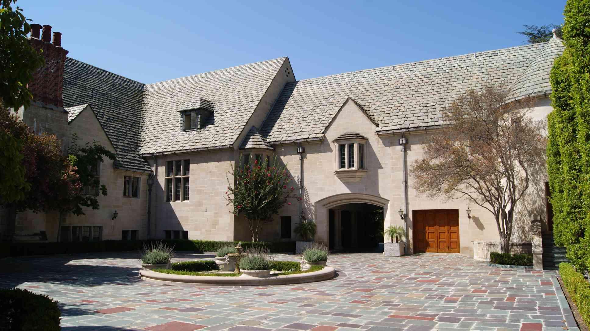 Greystone Mansion in Beverly Hills