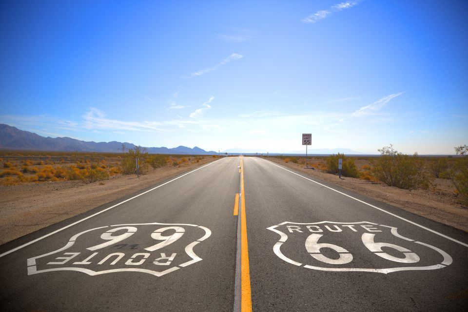 Route 66, Amboy, California, USA