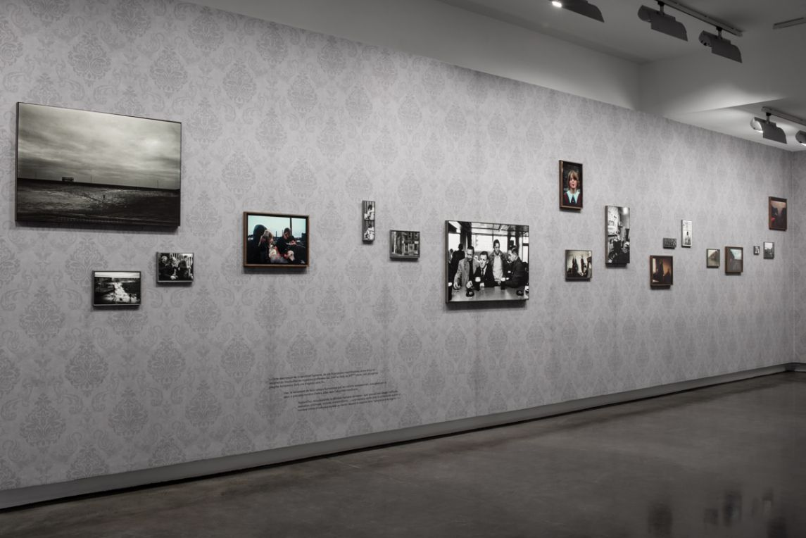 Photographer Stephane Deroy at Le BAL Paris.