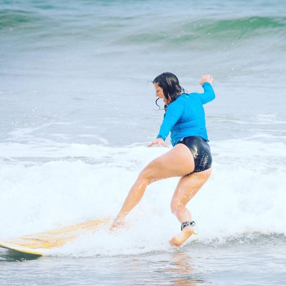 Surfing is difficult and takes patience.