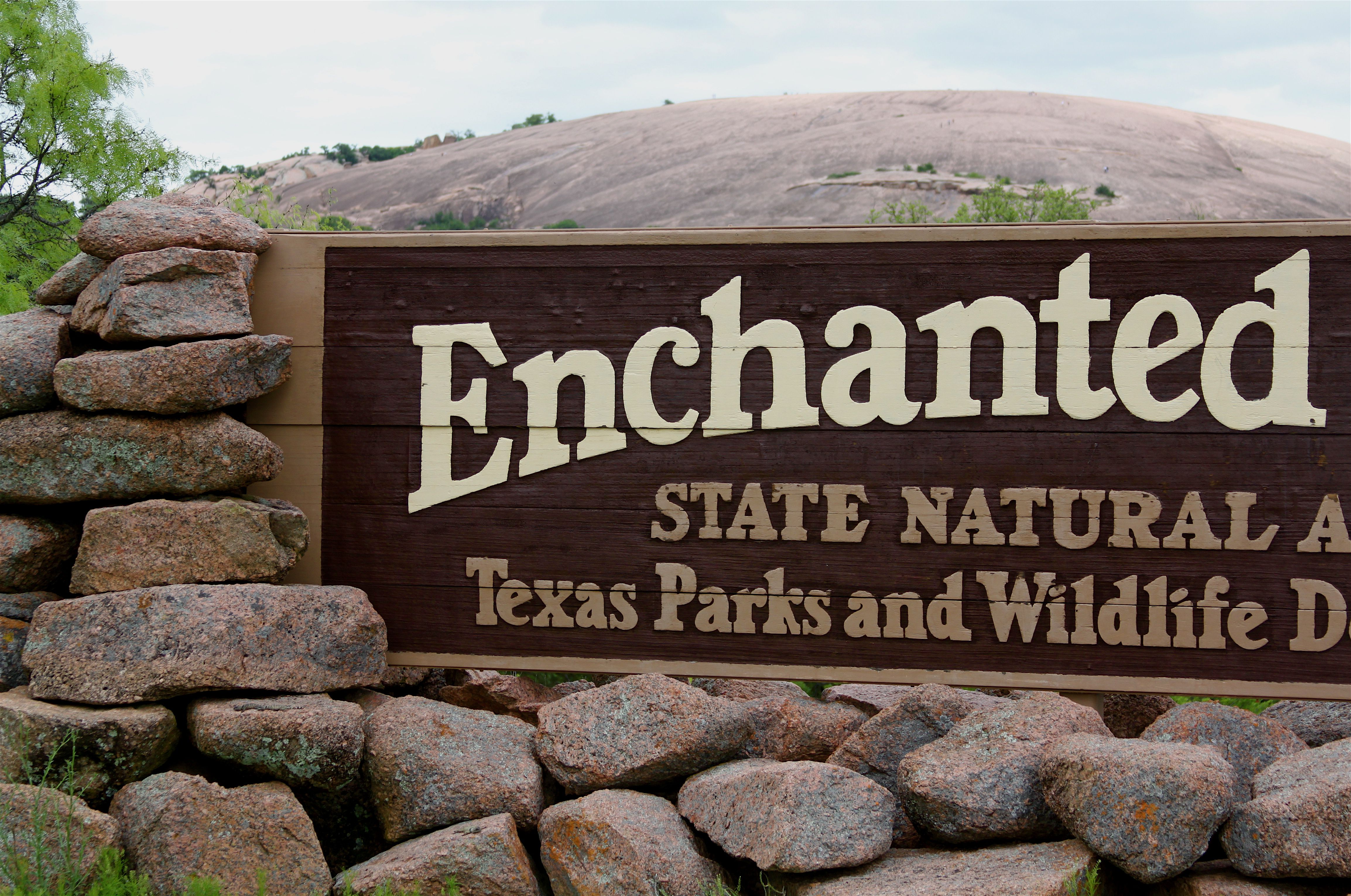 Enchanted Rock State Park in Texas.