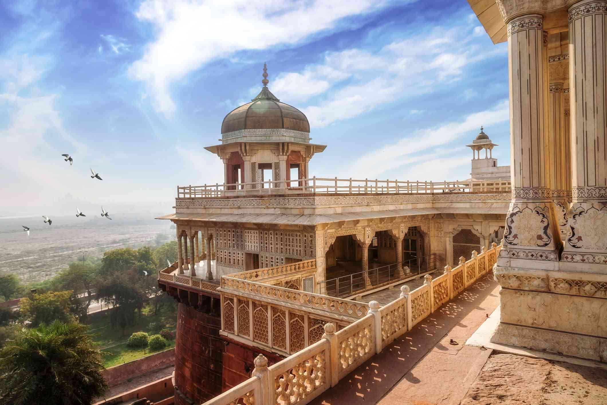 Image result for agra fort inside images