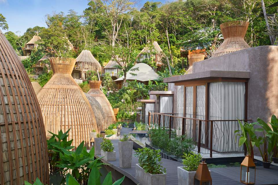 Tree House hotel rooms Keemala Phuket