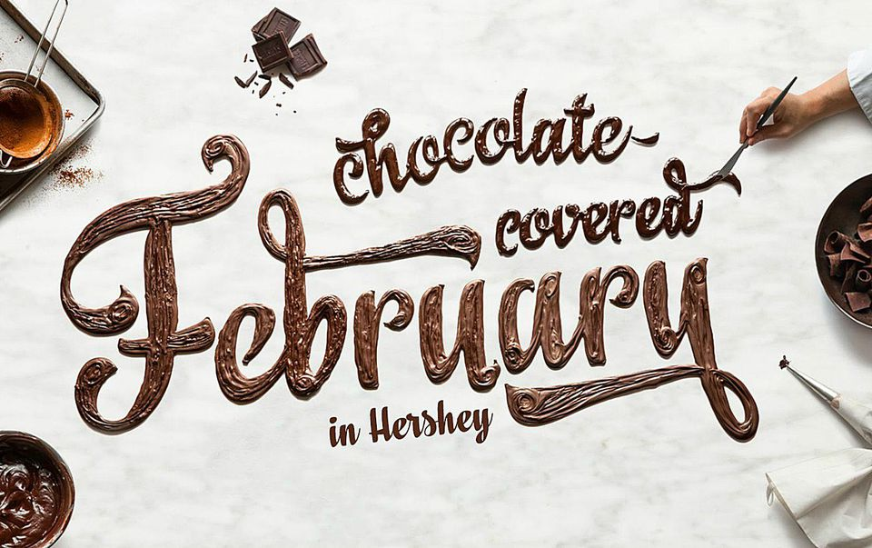 Hershey Chocolate Covered February