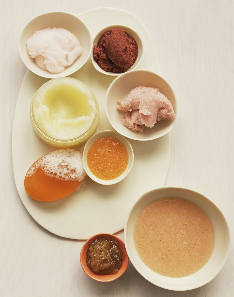 Assorted exfoliants